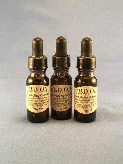 Original 3 Pack CBD Oil