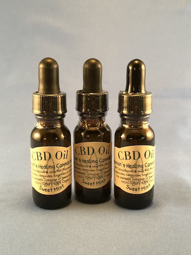 Sweet Mint 3 Pack CBD Oil